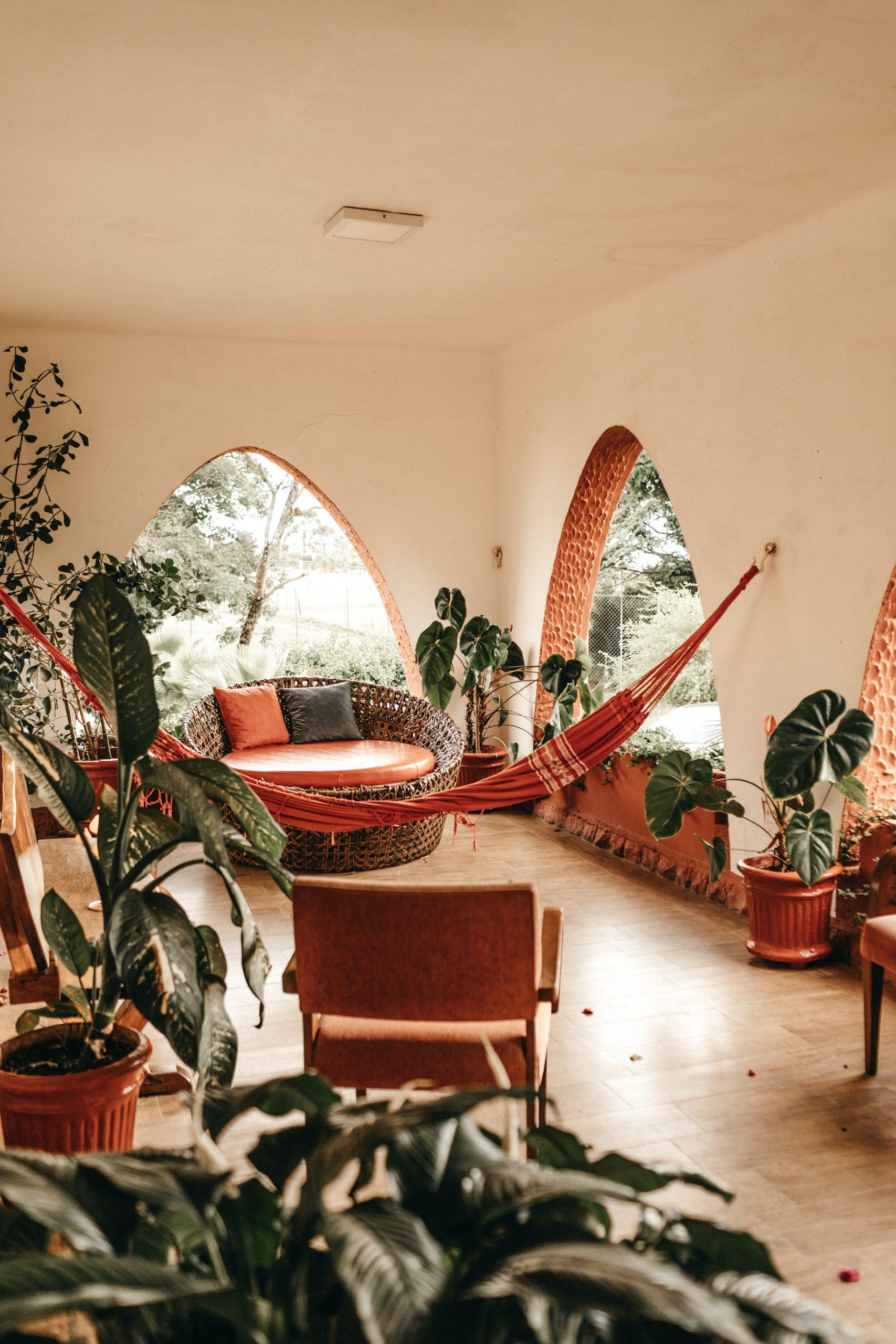 design interieur met planten